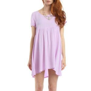 American Apparel   Mini Lilac Baby Doll Dress A7